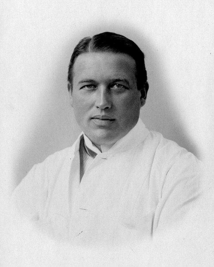 Christian Baastrup (1885-1950), overlæge på BBH's rtg.afdeling