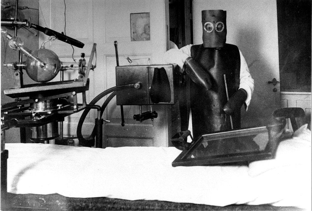 billede fra Det kongelige Frederikshospital, som blev nedlagt i 1910